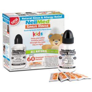 SINUS RINSE dla dzieci (4-6 lat)-zestaw podstawowy izotoniczny