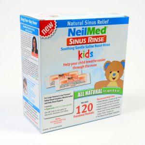 SINUS RINSE IZOTONICZNY- zestaw uzupełniający dla dzieci (4-6 lat)